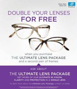 essilor poster lens package